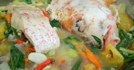 Resep Masakan Ikan Kakap Kukus dan Cara Membuat