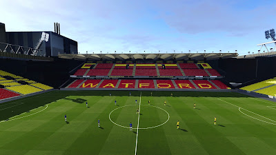 PES 2021 Stadium Vicarage Road