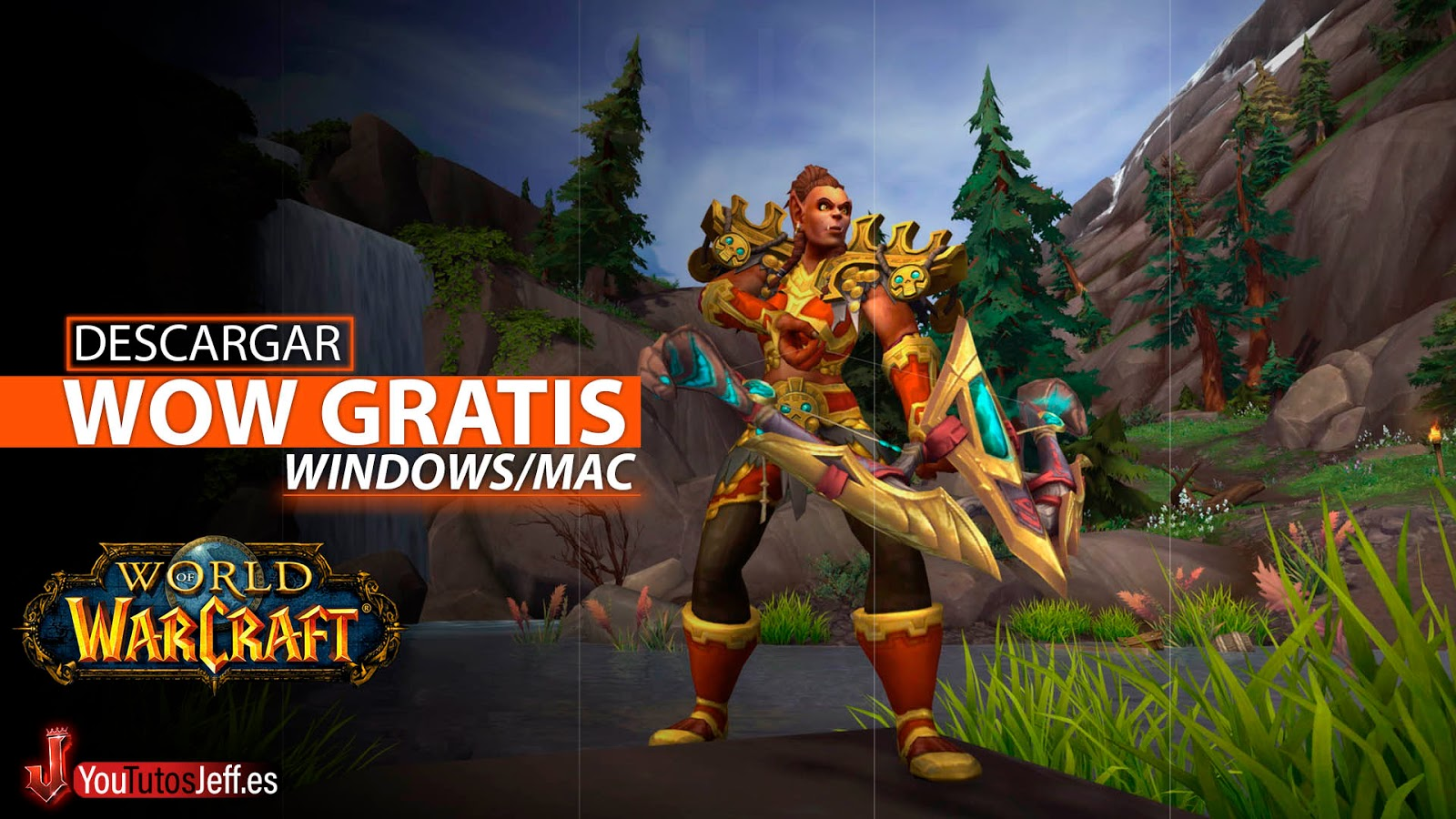 Como Descargar World Of Warcraft para PC Ultima Versión 🔥