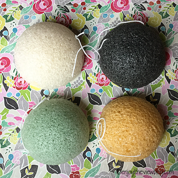 four konjac sponges