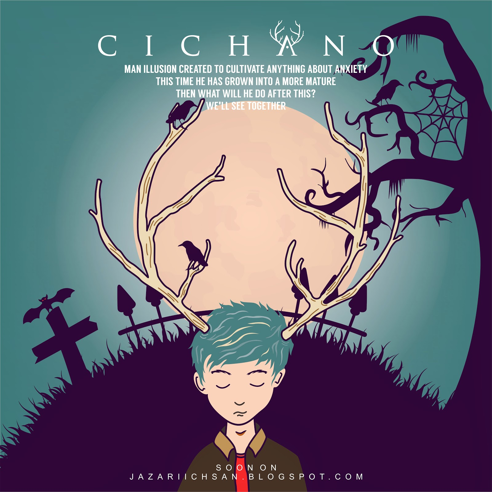 cichano art creative design story by muhammad jazari ichsan