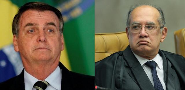 Bolsonaro não pode descumprir a Constituição, diz Gilmar