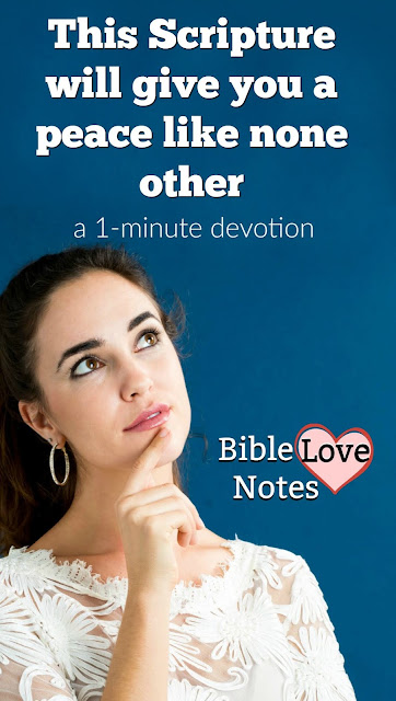 This 1-minute devotion encourages us with an aspect of God's love spoken of in Romans 5. Be encouraged!