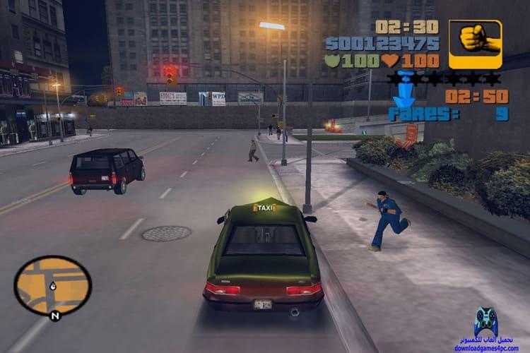 تحميل لعبة جاتا GTA 3 للكمبيوتر من ميديا فاير برابط مباشر