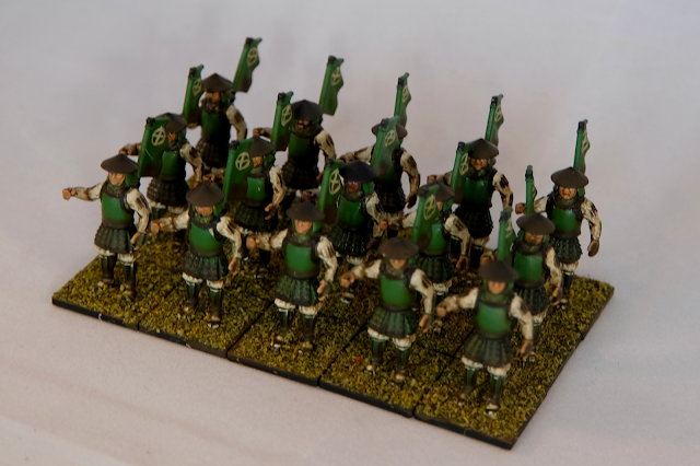 Ashigaru troops Isometric
