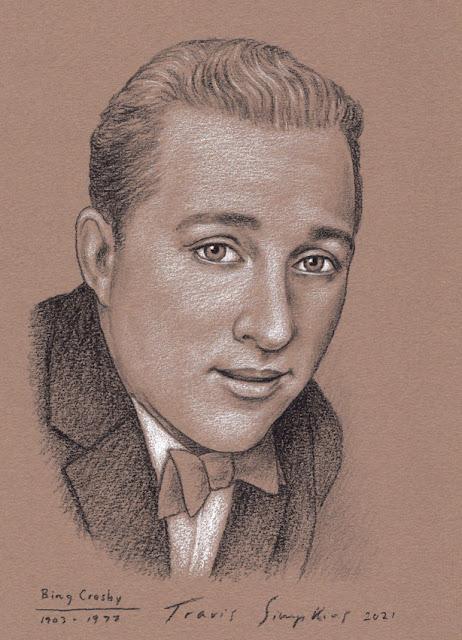 Bing Crosby. Crooner. Singer, Musician and Actor. by Travis Simpkins