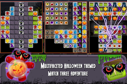 Halloween Drops 4 - Match three puzzle v3.0.0