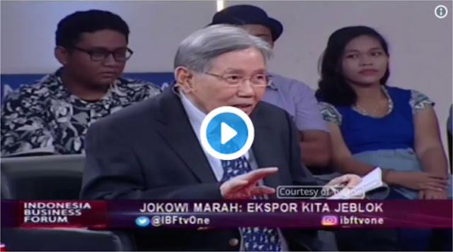 """Kwik Kian Gie Tantang Jokowi Berani Katakan """"TIDAK"""" Kepada Freeport, Bukan Cuma Pidato Marah-marah"""
