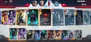 Spiderman deck marvel duel