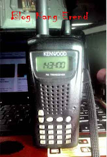 Cara Setting Radio HT Kenwood TH-255A