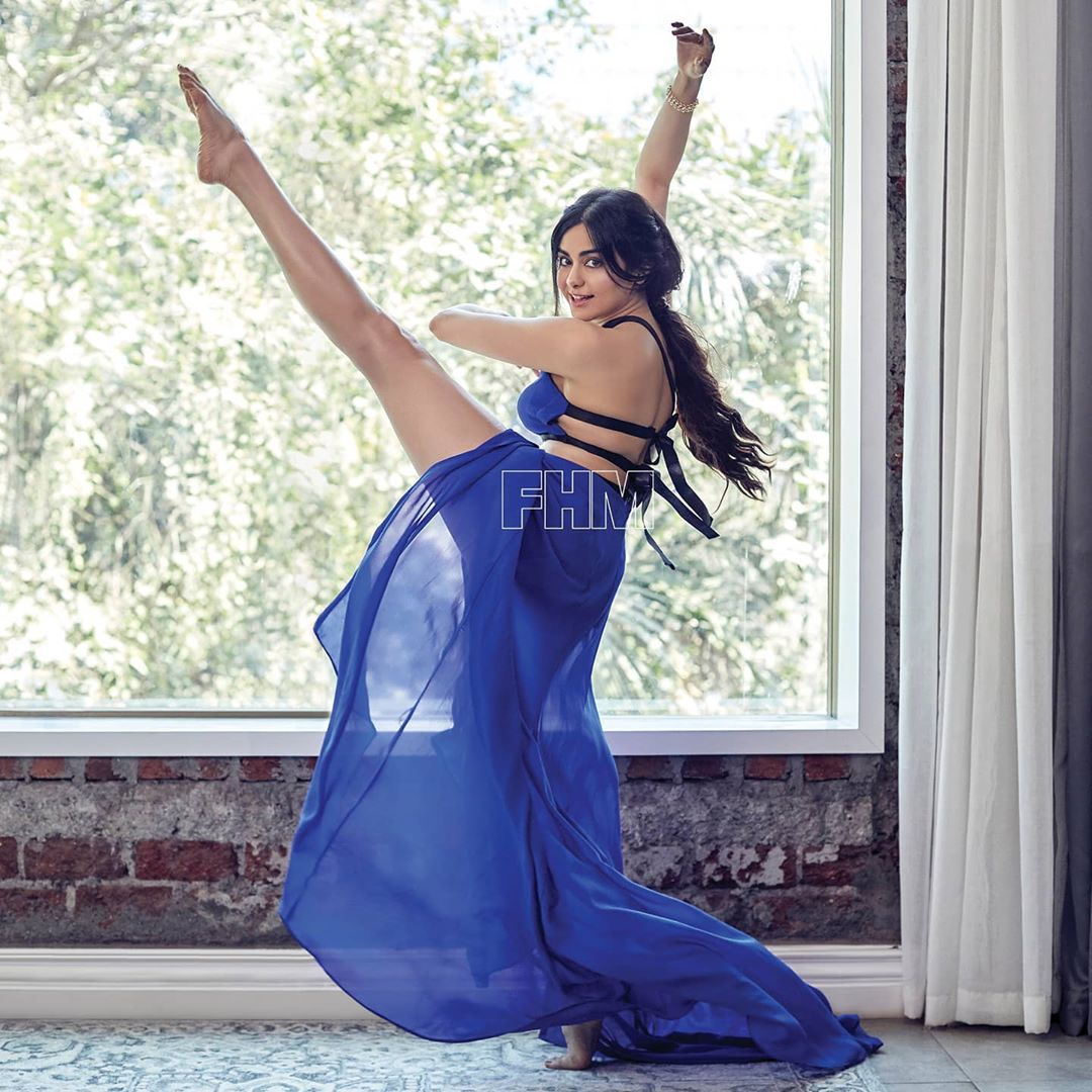 Adah Sharma Hot Photoshoot For FHM Magazine HD Stills