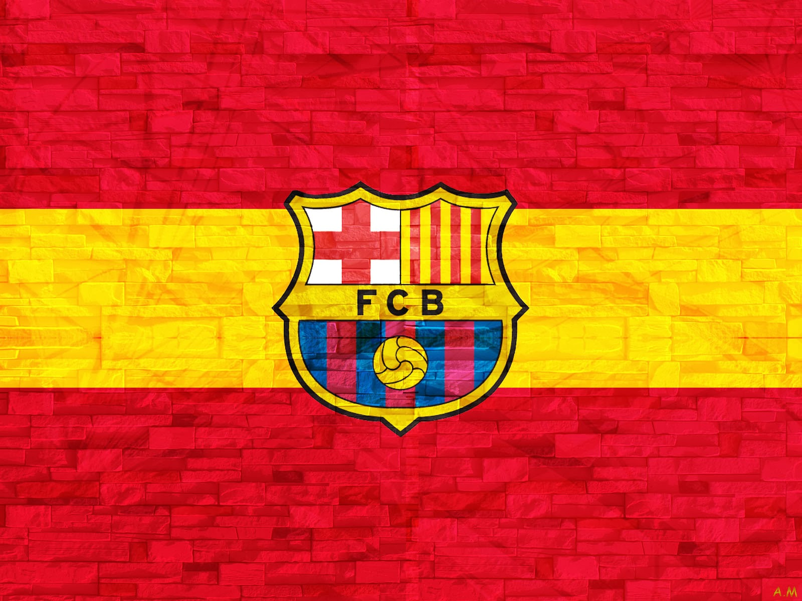 Fc Barcelona hd Wallpaper 2014