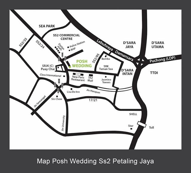a lot of bridal shops pj