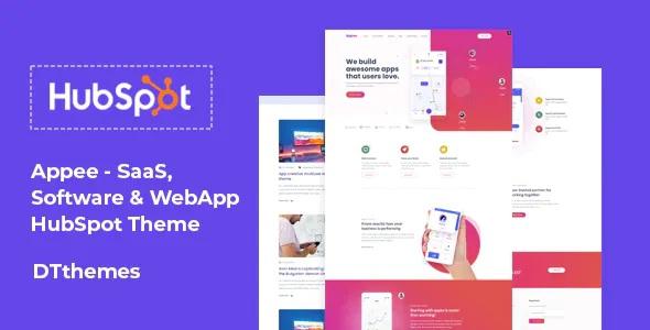 Best SaaS, Software & WebApp HubSpot Theme