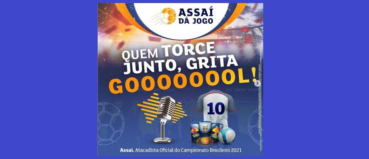 Participe Assaí dá Jogo Brasileirão 2021