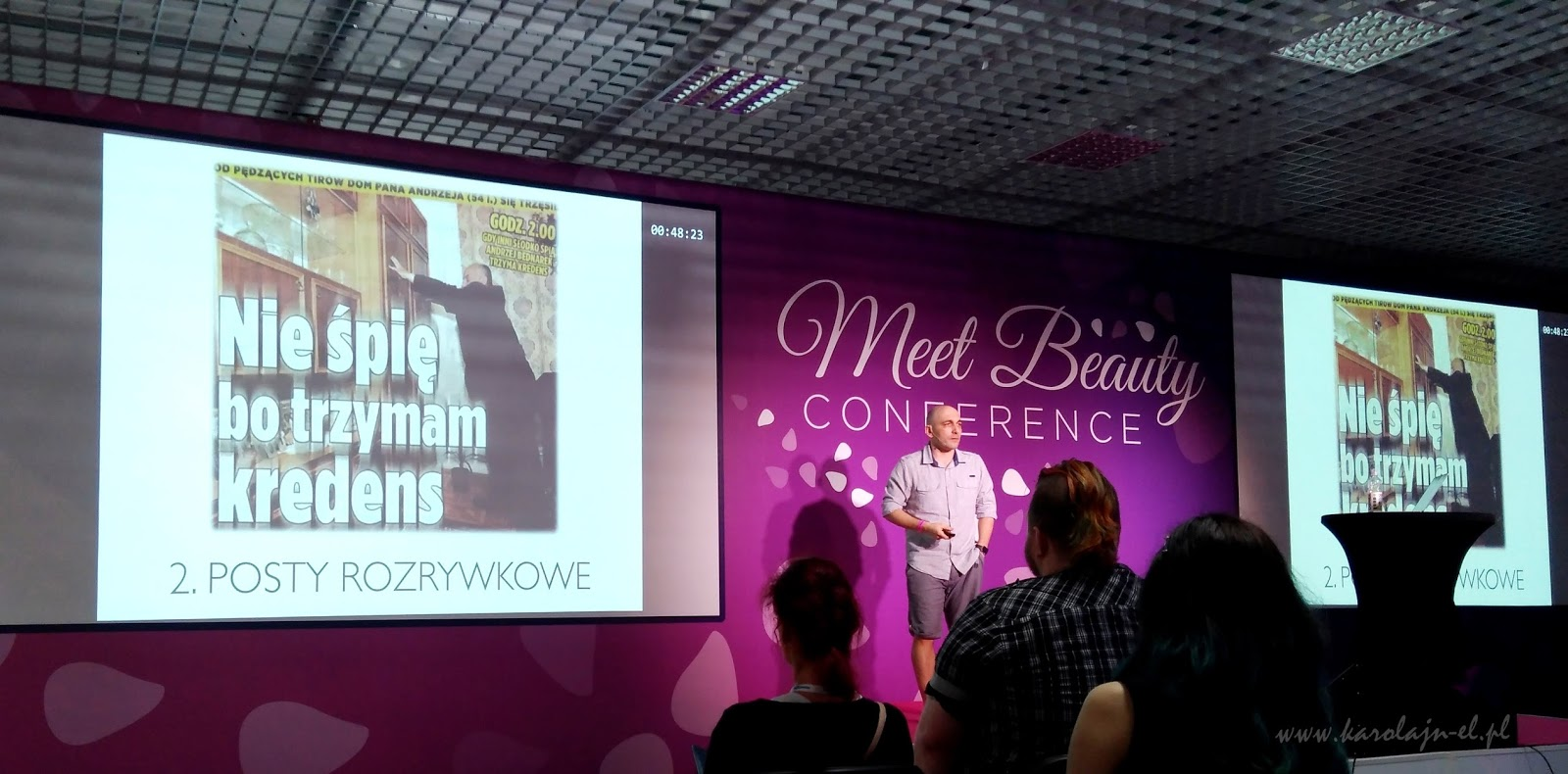 Jason Hunt na konferencji Meet Beauty 2017