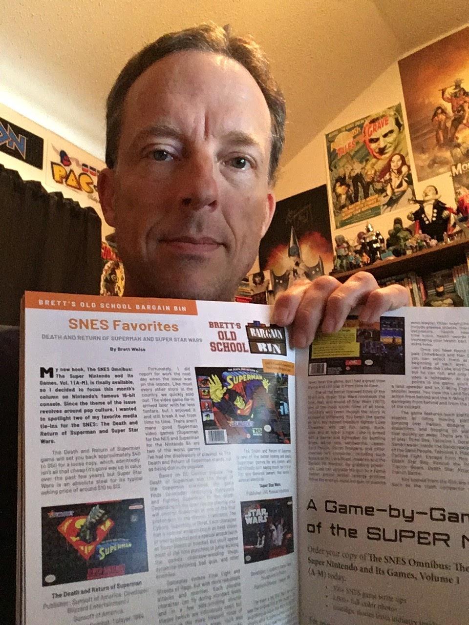 Brett Weiss: Words of Wonder: Old School Gamer Magazine #6
