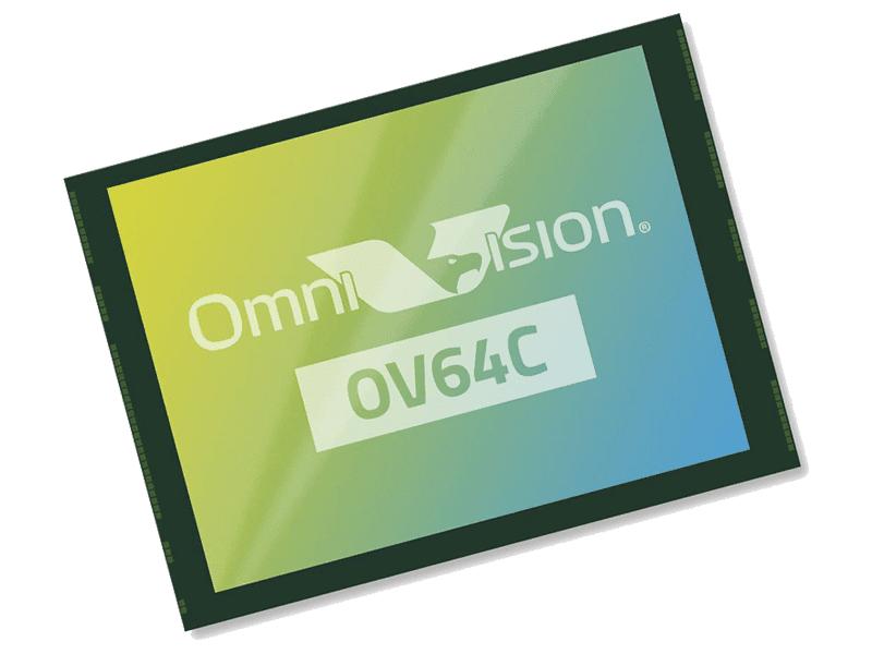 OmniVision OV64C 64MP sensor with 8K video support announced