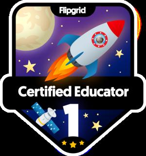 Flipgrid Certified Level 1, 2019-Present