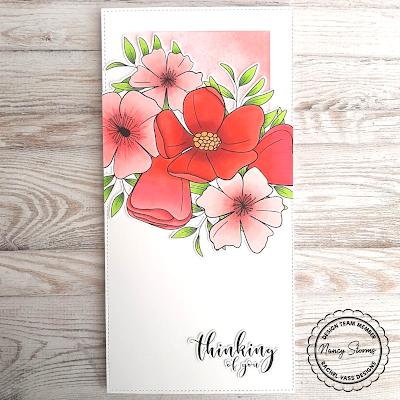Rachel Vass Designs - Leafy Floral