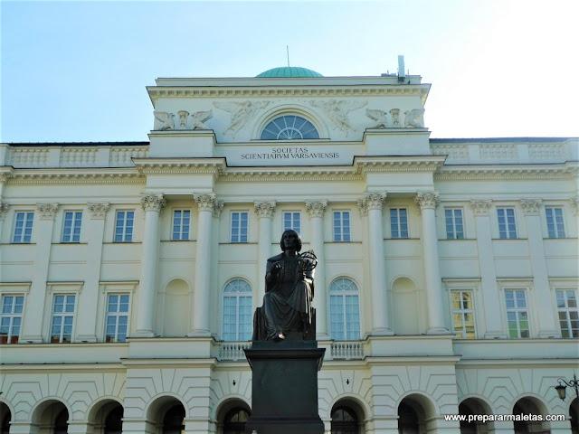 Copérnico en Varsovia