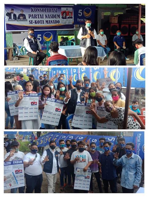 Warga Serukan Pilih PAHAM No 4 Saat GSVL Kampanye di Markas HJP