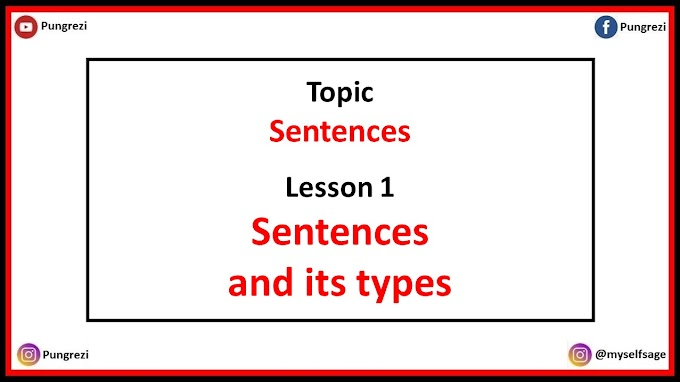 1. Sentence and Types of Sentences