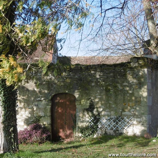 Garden gate, chateau farm, Argenson, Indre et Loire, France. Photo by Loire Valley Time Travel.