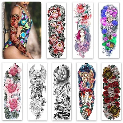 Temporary Sleeve Tattoo For Women