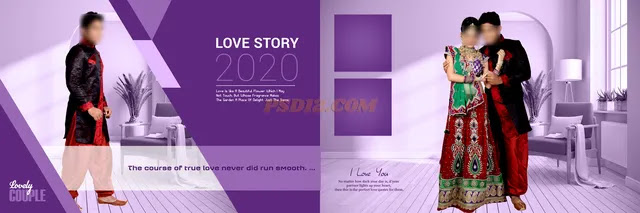 New 2020 12x36 Wedding Album DM Vol 20