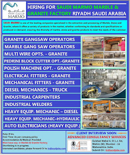 Saudi Marmo Marble and Granite Factory Riyadh