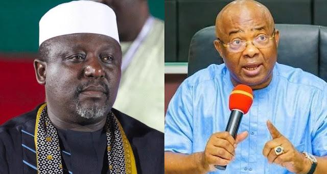 Uzodimma Describes Okorocha As A Rabble-Rouser, Advises Nigerians Not To Take Him Serious
