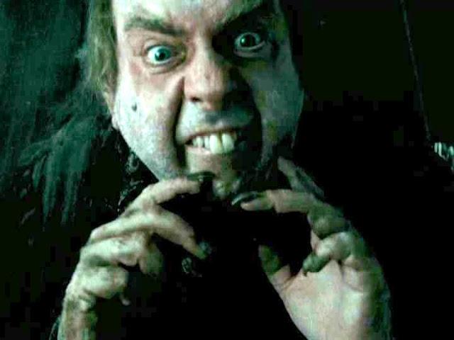 Le même Timothy Spall en Peter Pettigrew dans la saga Harry Potter