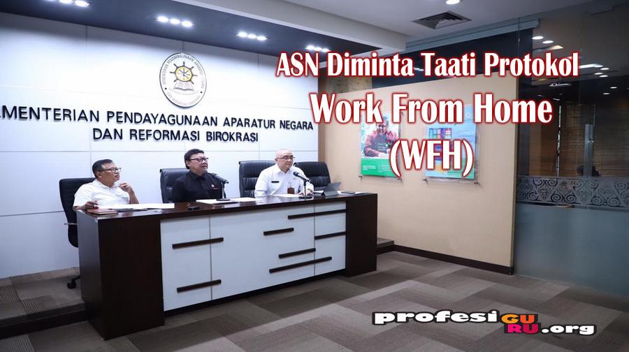 ASN Diminta Taati Protokol Work From Home