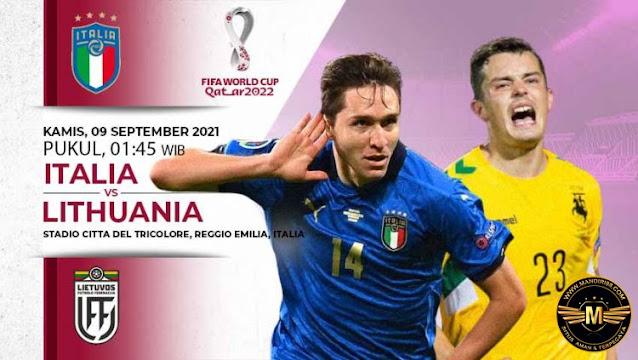 Prediksi Italia Vs Lithuania