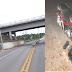 Rapaz sofre fraturas graves ao colidir moto em guard-rail na GO-164 na Cidade de Goiás