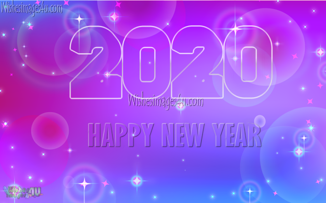 Happy New Year 2020 Pics With Sparkling Background