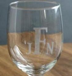 buat tulisan di gelas dengan etching