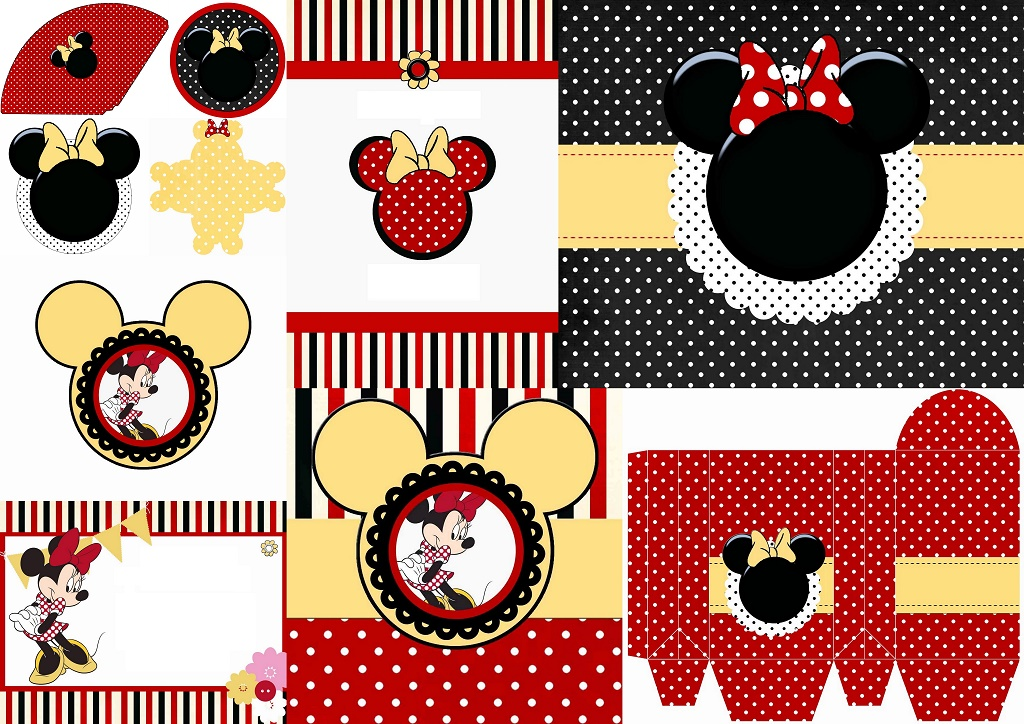 Funny Red Minnie Mouse Free Printables Oh My Fiesta In English