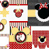 Funny Red Minnie Mouse Free Printables.