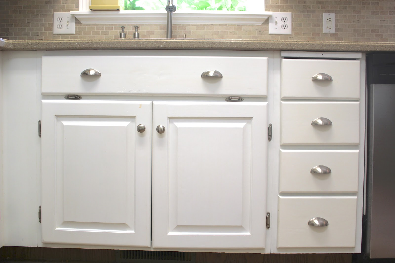 changing hinges on kitchen cabinets wrought iron table everywhere beautiful remodel big results a