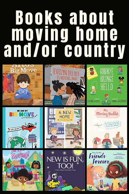 Books for kids about moving home and country