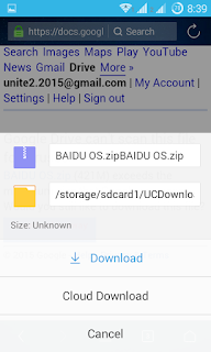 resume non-resumable/broken downloads in UC Browser