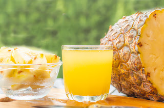 Pine apple for wrinkles around lips