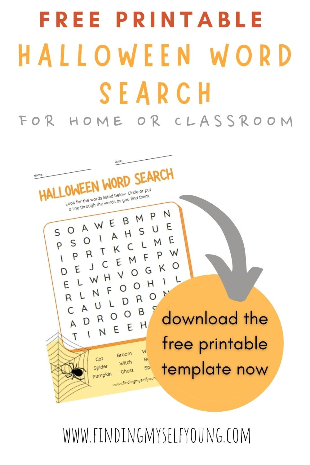 halloween word search download now