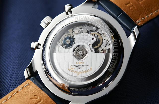 Longines Master Collection Moonphase Automatic Chrono Blue Dial replica Ref. L2.673.4.92.0