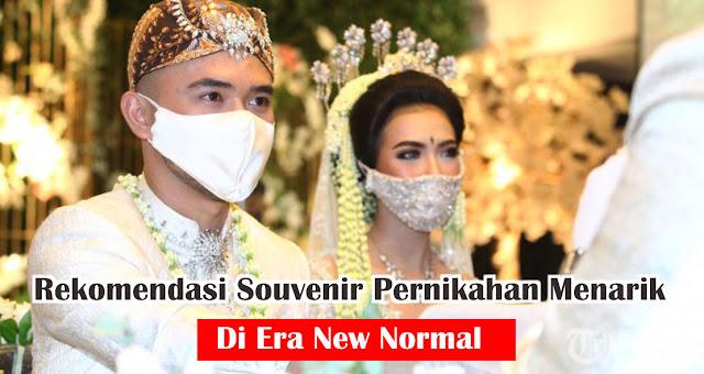 Rekomendasi Souvenir Pernikahan Menarik Di Era New Normal