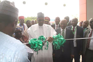 NEWS: President Buhari  Commissions New Business School At ABU Zaria (Photos)
