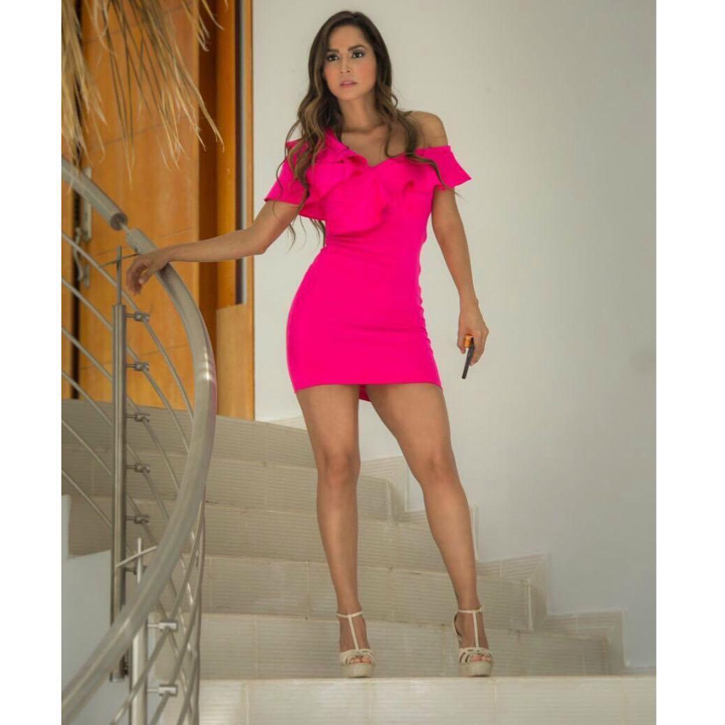 Carmen Villalobo   Modelo Colombiana