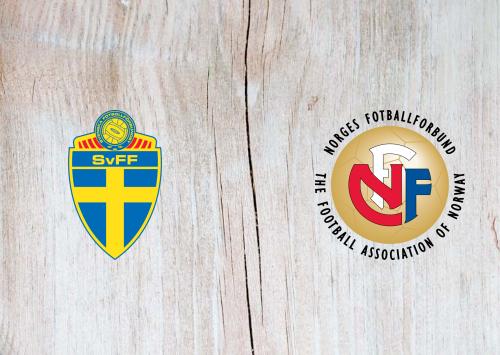 Sweden vs Norway Full Match & Highlights 8 September 2019